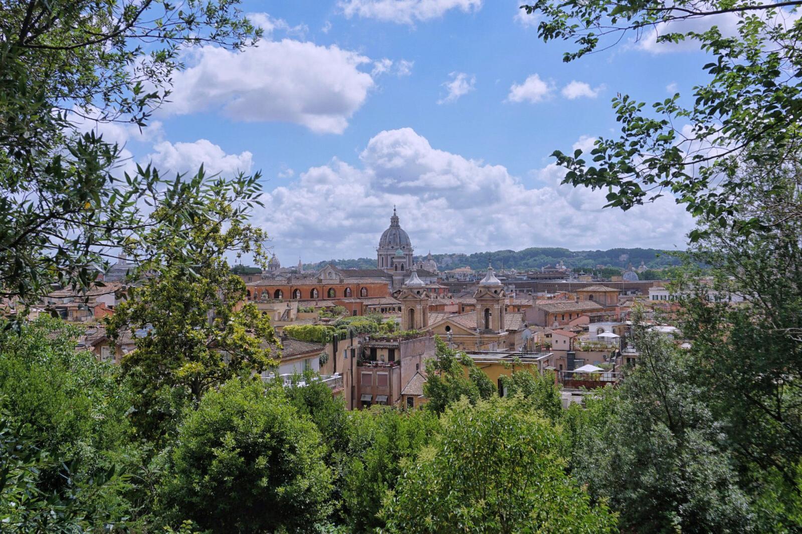5 parques y áreas verdes en Roma