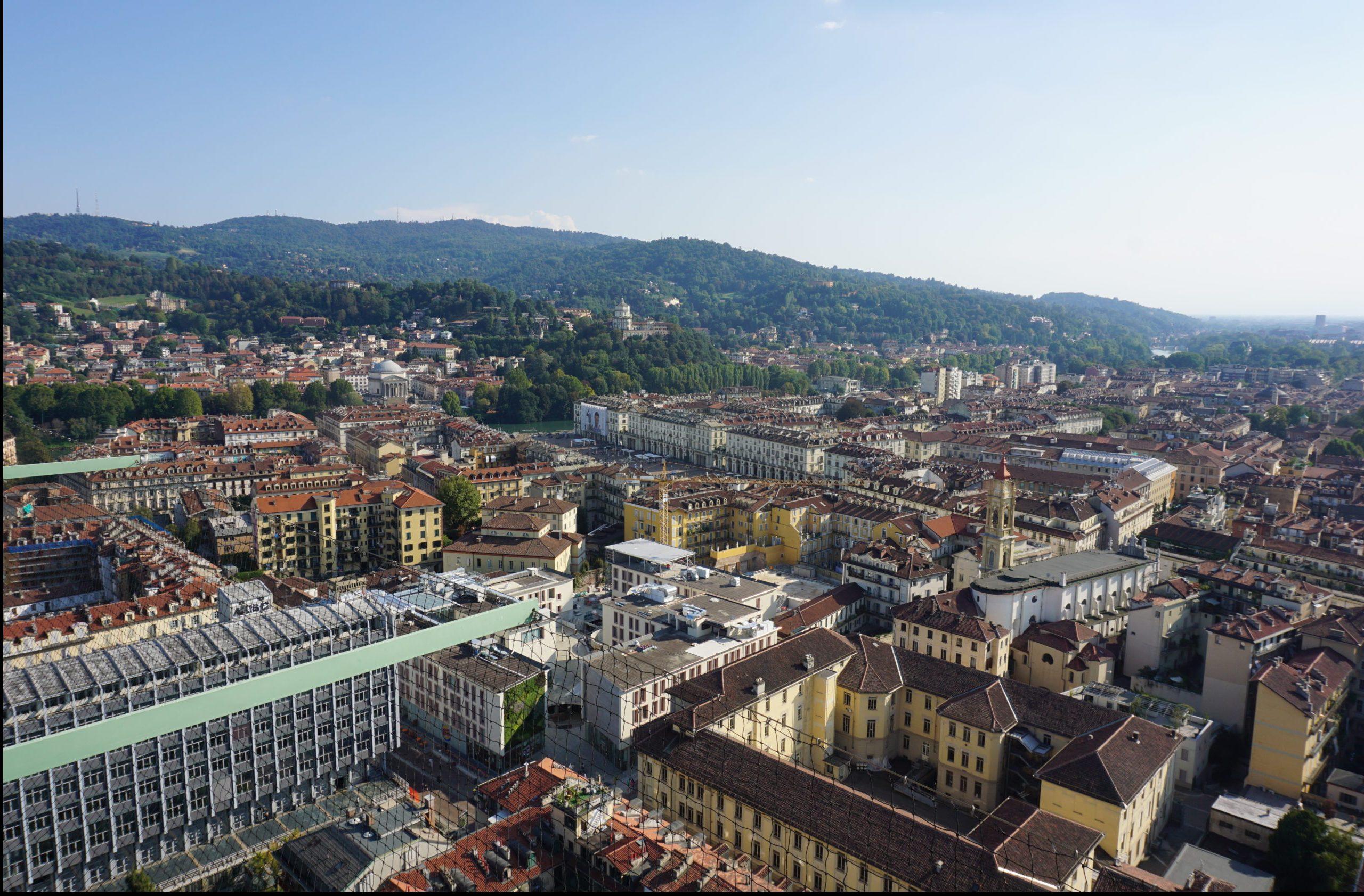 5 miradores en Torino con las mejores vistas