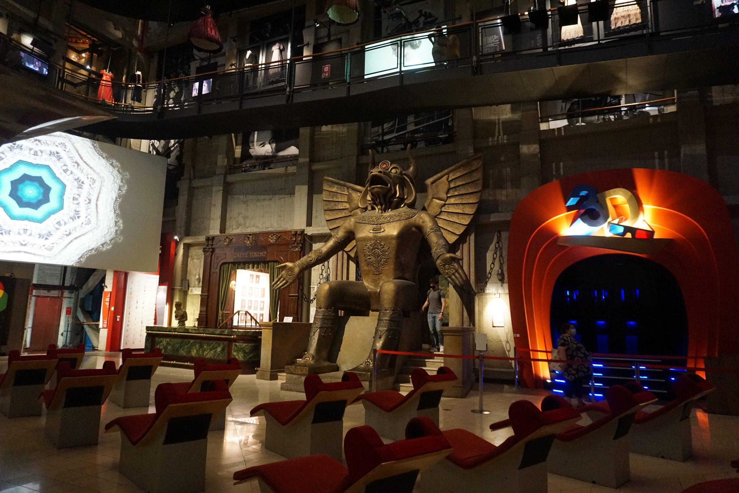 Un plan imperdible en Turín: el museo del cine