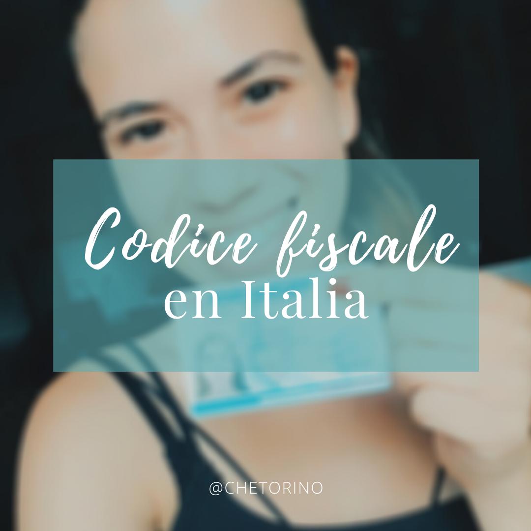 Codice fiscale en Italia